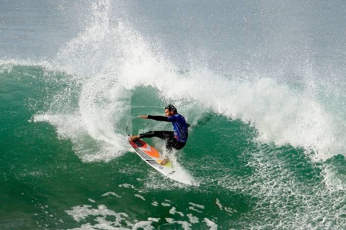 Mundial de surfe em Bells Beach, na Austrália