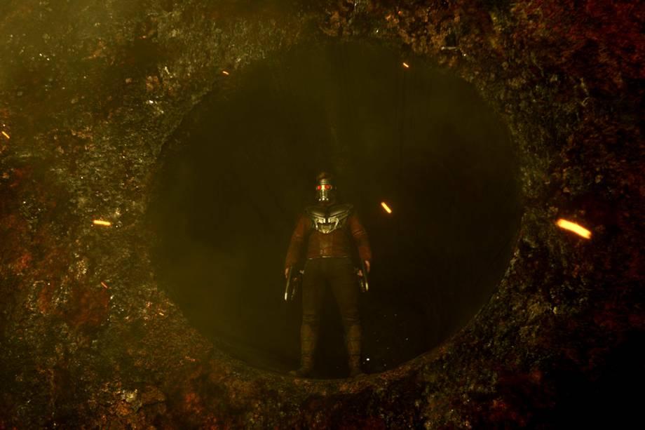 Chris Pratt interpreta Peter Quill em Guardiões da Galáxia 2
