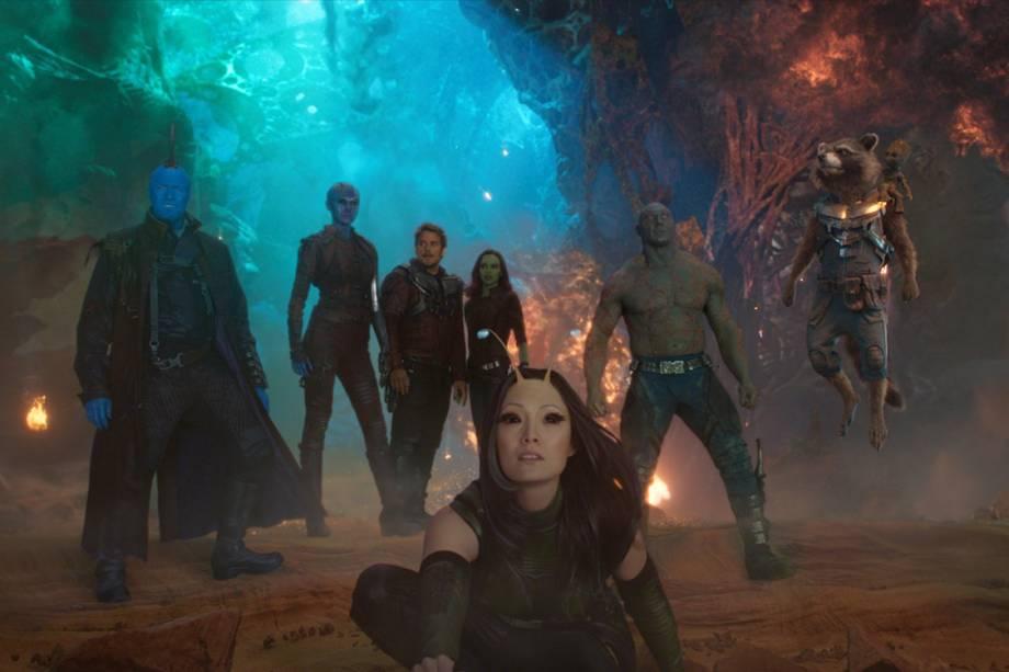 Elenco de Guardiões da Galáxia 2