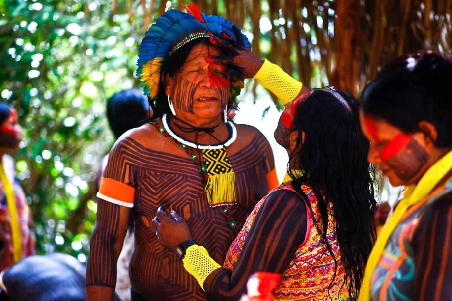 A Semana dos Povos Indígenas, promovida por associações indígenas e apoiada pelo governo, aconteceu este ano em São Félix do Xingu, no Pará, município com mais de 70% da população indígena