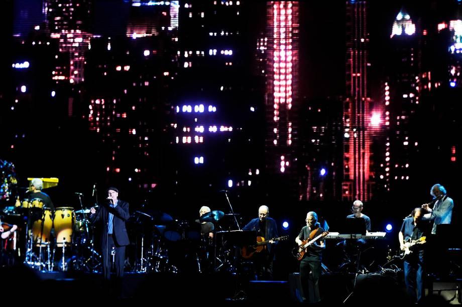 Show do cantor norte-americano James Taylor no estádio Allianz Parque, em São Paulo - 06/04/2017