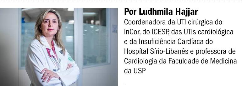 Doutora Ludhmila Hajjar, blog letra de médico