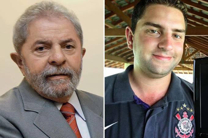 Luiz Inácio Lula da Silva e Luis Claudio Lula da Silva