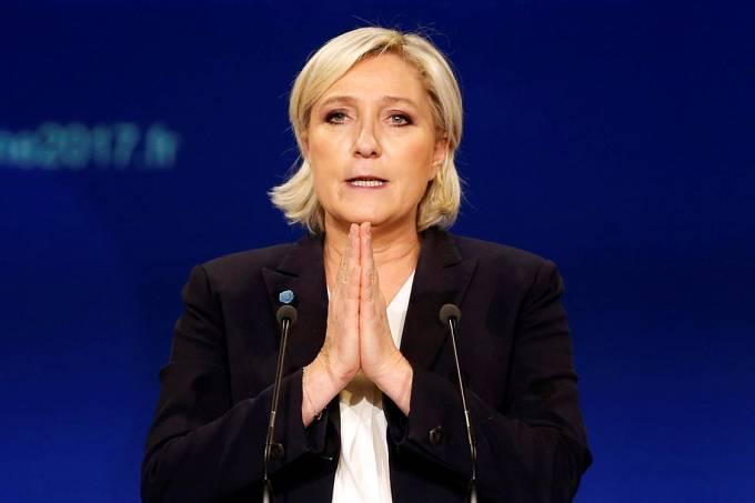"""Pensando o """"impensável"""": nunca, jamais, em tempo algum Marine Le Pen pode ganhar?"""
