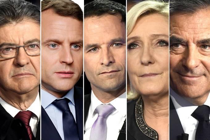 Candidatos à presidência na França