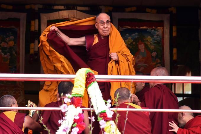 Dalai Lama na Índia