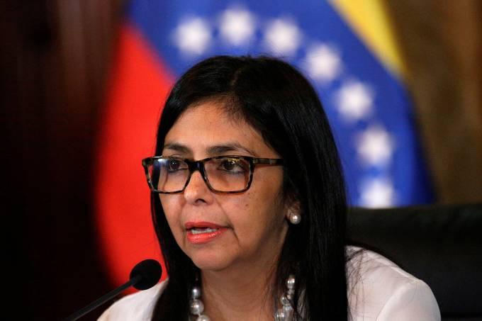 Ministra das Relações Exteriores da Venezuela Delcy Rodríguez