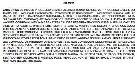 Tribunal de Justiça da Paraíba publica texto na 'língua' do Mussum, dos Trapalhões
