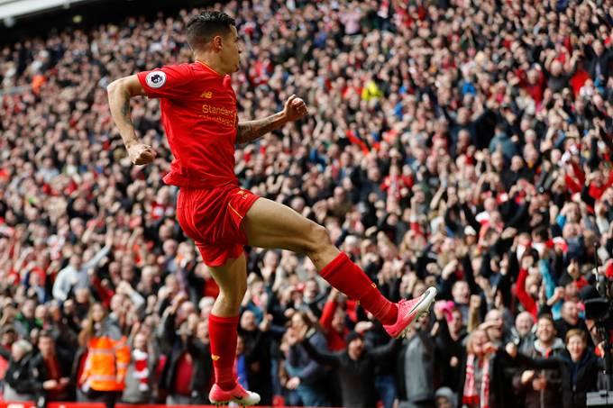 Philippe Coutinho do Liverpool