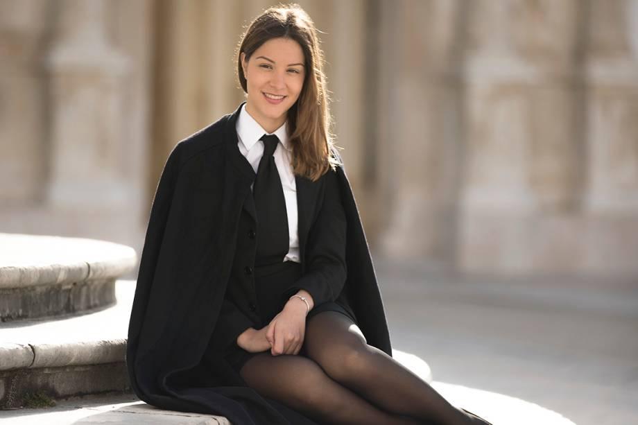 Clara, estudante de jornalismo da faculdade de Coimbra