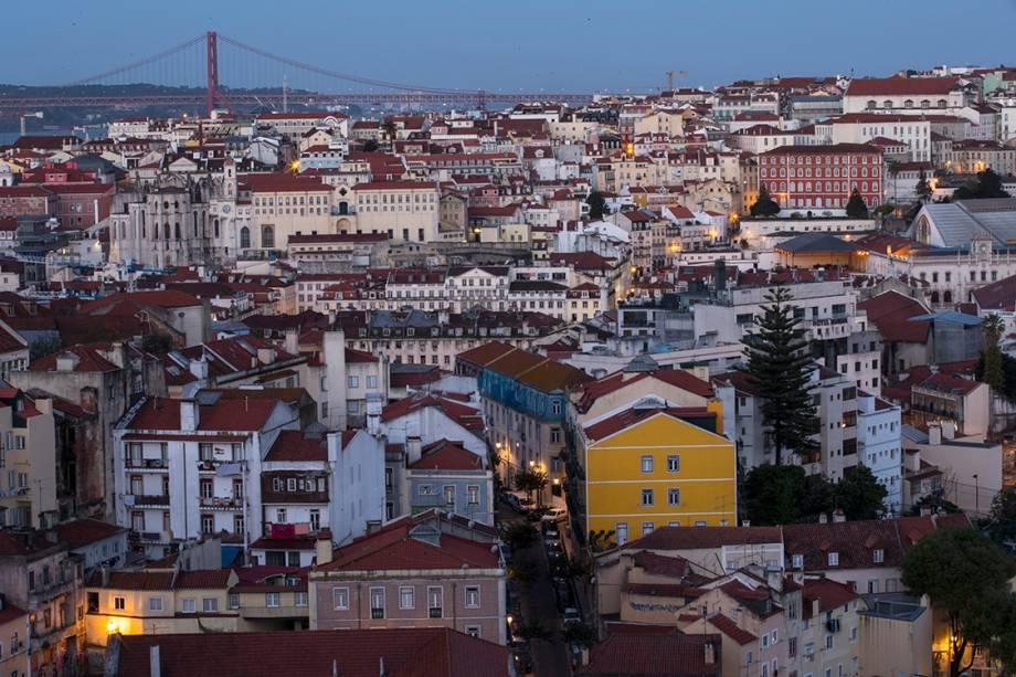 O centro de Lisboa