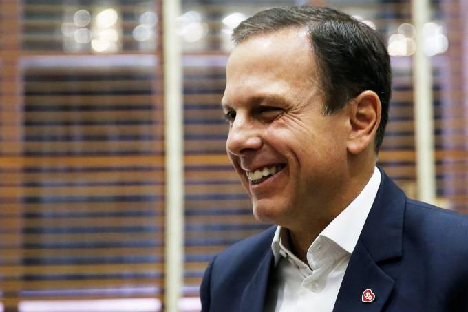 O prefeito João Doria (PSDB)