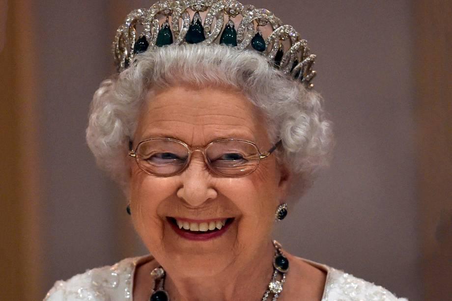 A rainha Elizabeth II durante encontro da Cúpula dos Chefes de Estado da Commonwealth em Malta, em 2015