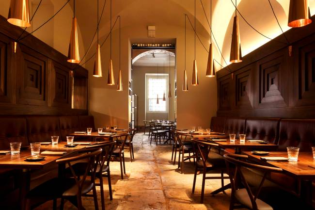 O restaurante Alma, em Lisboa, Portugal