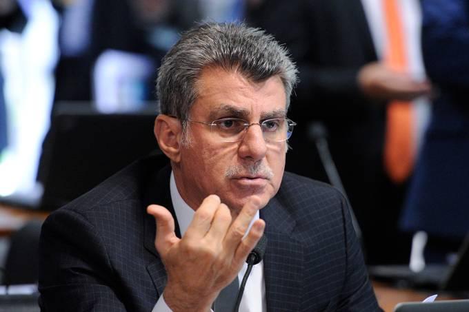 O senador Romero Jucá (PMDB-RR