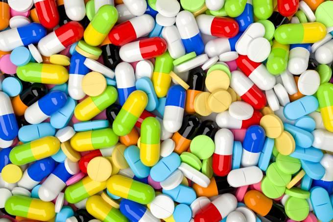 Cápsulas de remédio