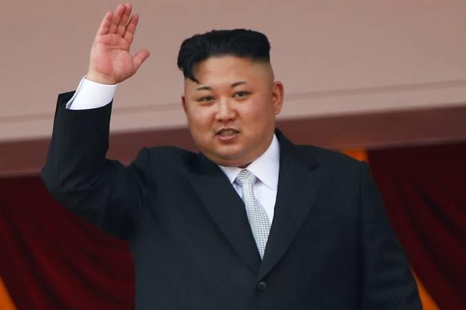 """Kim Jong-un, o """"líder-supremo"""" da Coreia do Norte"""