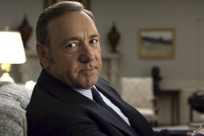 Frank Underwood (Kevin Spacey) em cena de 'House of Cards'