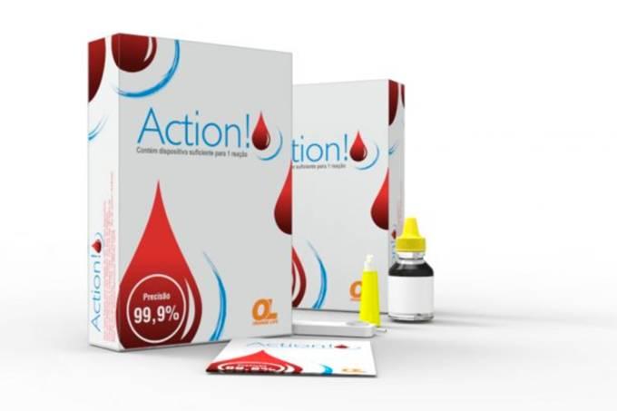 Action, o primeiro autoteste para triagem do HIV