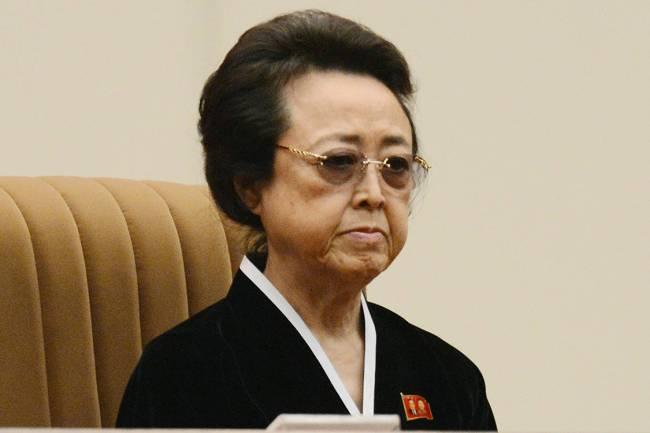 Kim Kyong Hui, irmã de Kim Jong Il
