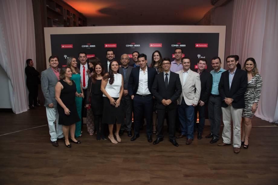 Delcio Bianchini Quadros e Wilson de Paula Silveira Junior: com a equipe Santander