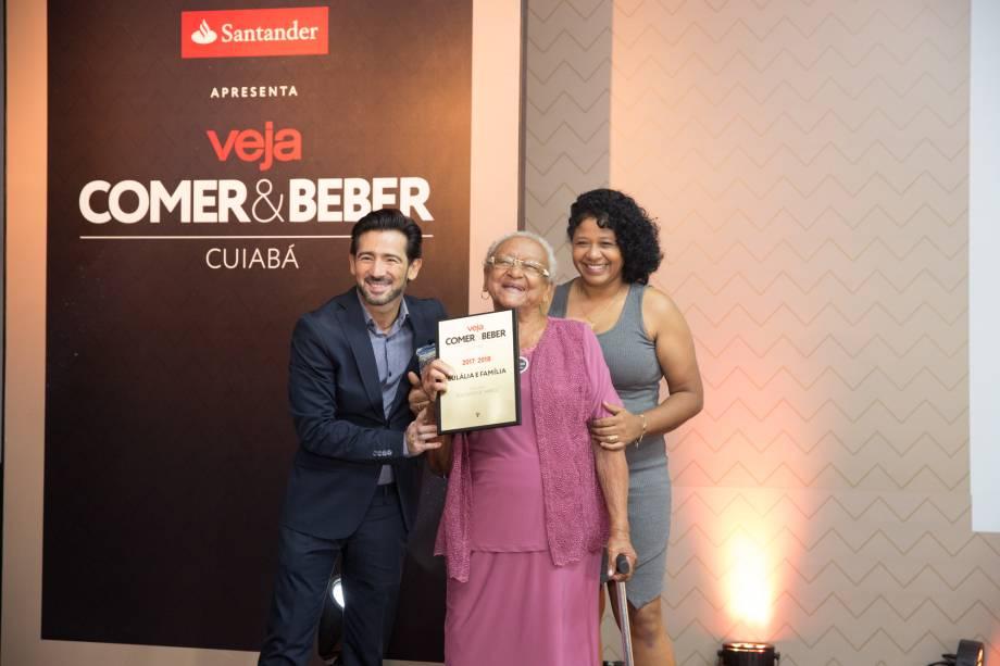 Dona Eulália: ela faz o melhor bolinho de arroz de Cuiabá