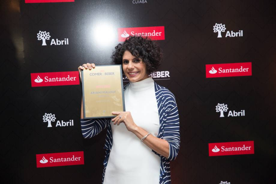 Ariani Malouf: chef do ano por VEJA COMER & BEBER CUIABÁ