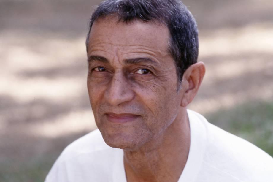 Nelson Xavier na novela 'Salsa e Merengue', da TV Globo em 1996