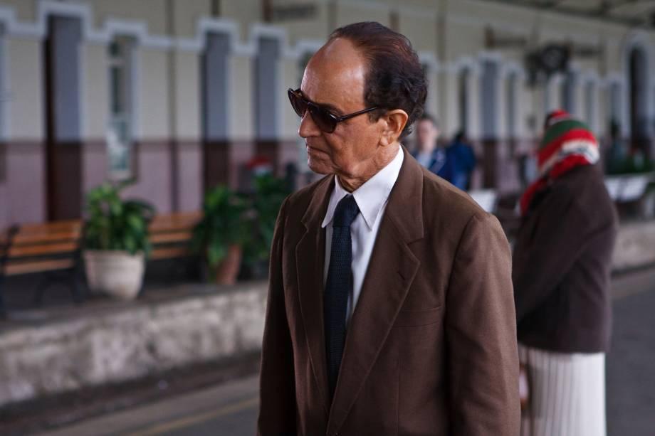 Nelson Xavier interpretou Chico Xavier no cinema