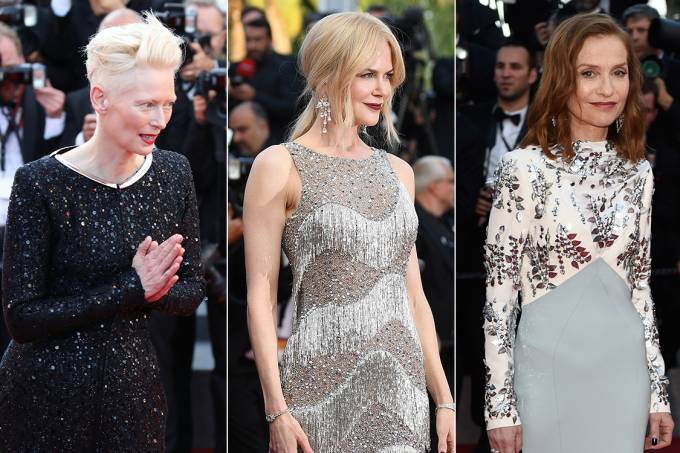 Tilda Swinton, Nicole Kidman e Isabelle Huppert
