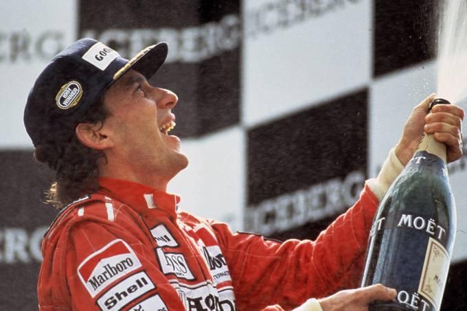 """Ayrton Senna, no documentário """"Senna – O Brasileiro, o Herói, o Campeão"""""""