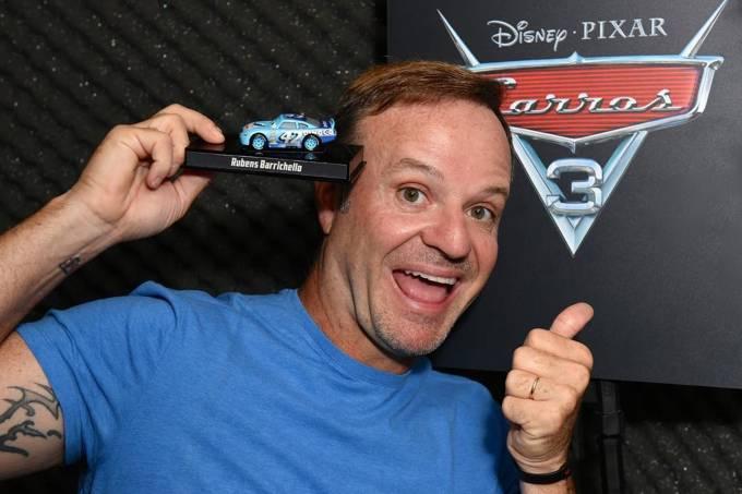 Rubens Barrichello fará participação no filme Carros 3