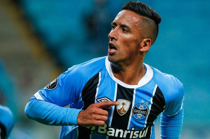 Lucas Barrios, do Grêmio