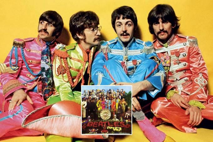 CLÁSSICO IMEDIATO –  Ringo, Lennon, McCartney, Harrison e a capa de Sgt. Pepper's: síntese de uma época