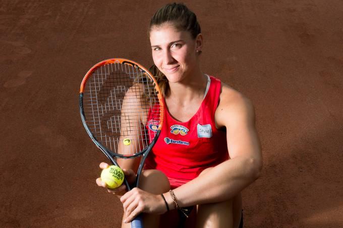 A tenista Beatriz Haddad Maia