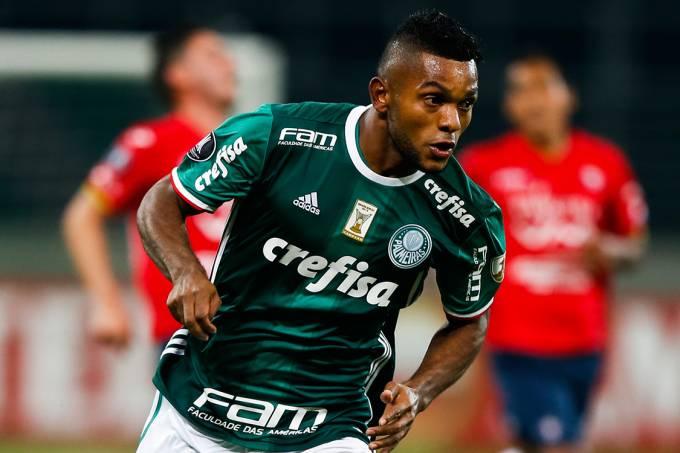 Miguel Borja, do Palmeiras