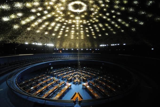 Congresso fica vazio após delação da JBS