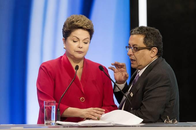 Dilma Rousseff e João Santana