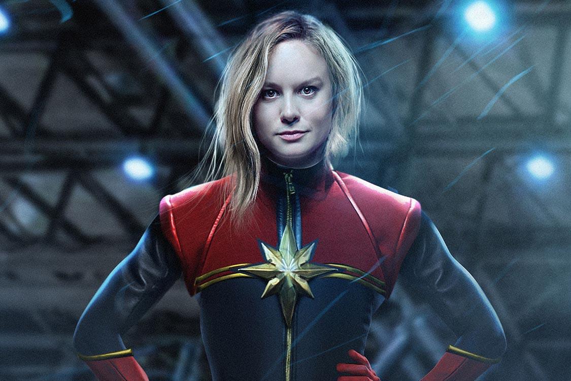 Brie Larson como Capitã Marvel: o voo feminino da Marvel no cinema