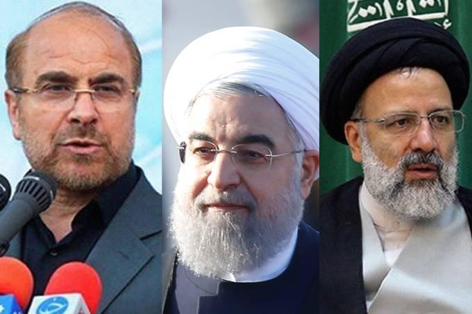 Candidatos à presidência do Irã