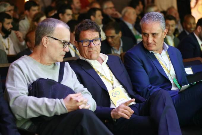 Marcelo Bielsa, Fabio Capello e Tite