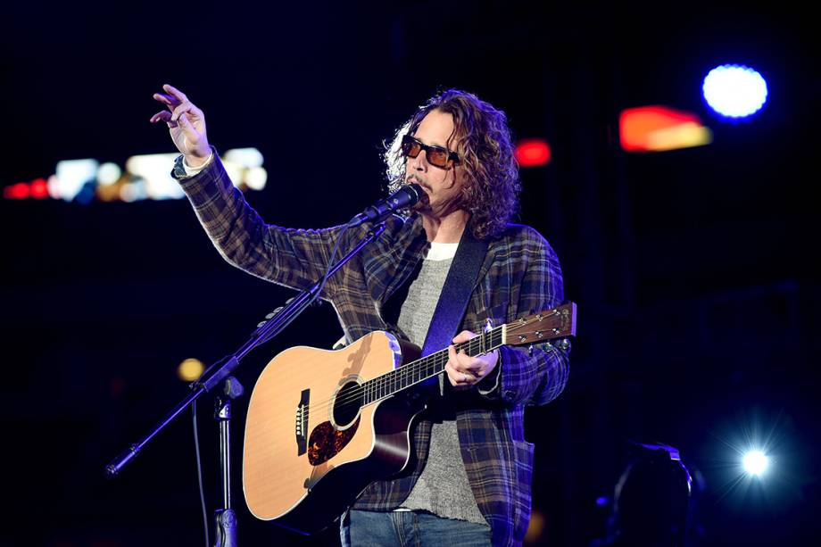 Chris Cornell, durante show em Arlington, Texas