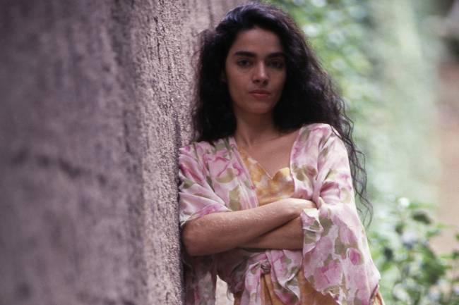 Claudia Ohana na novela Tieta, da Rede Globo.
