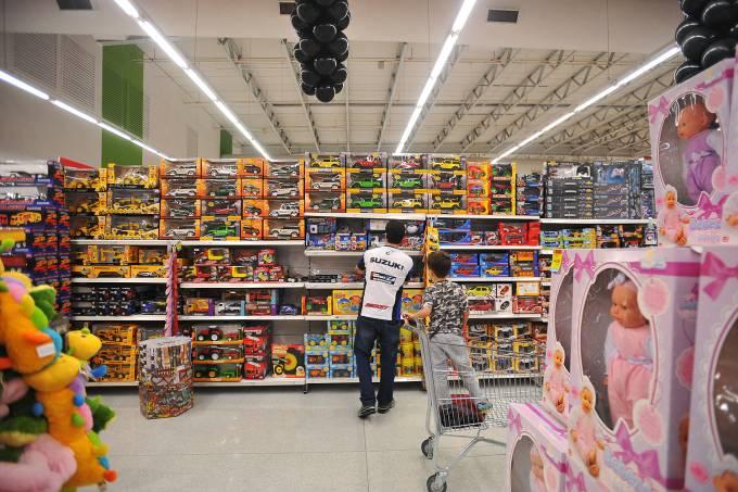 Compras em supermercado – Brinquedos