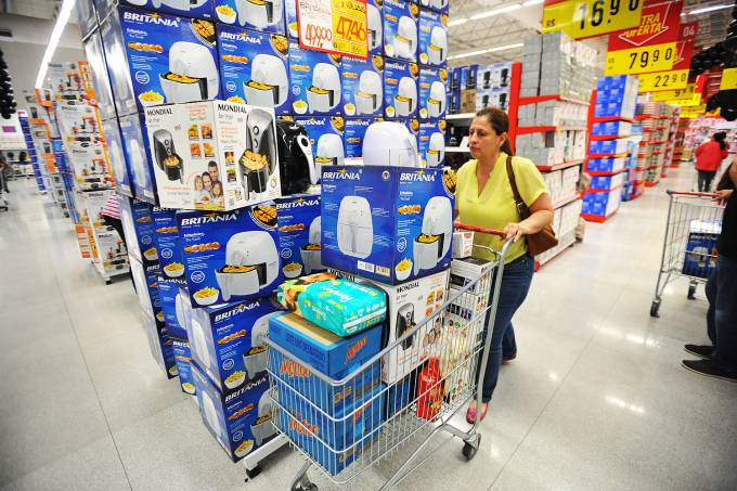 Compras em supermercado