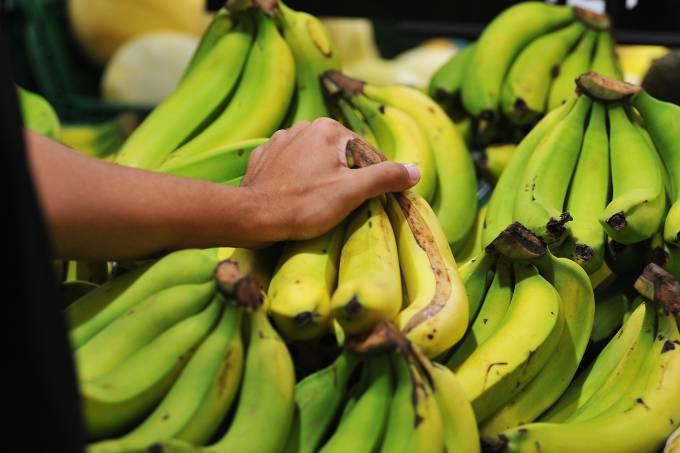 Compras em supermercado – Banana