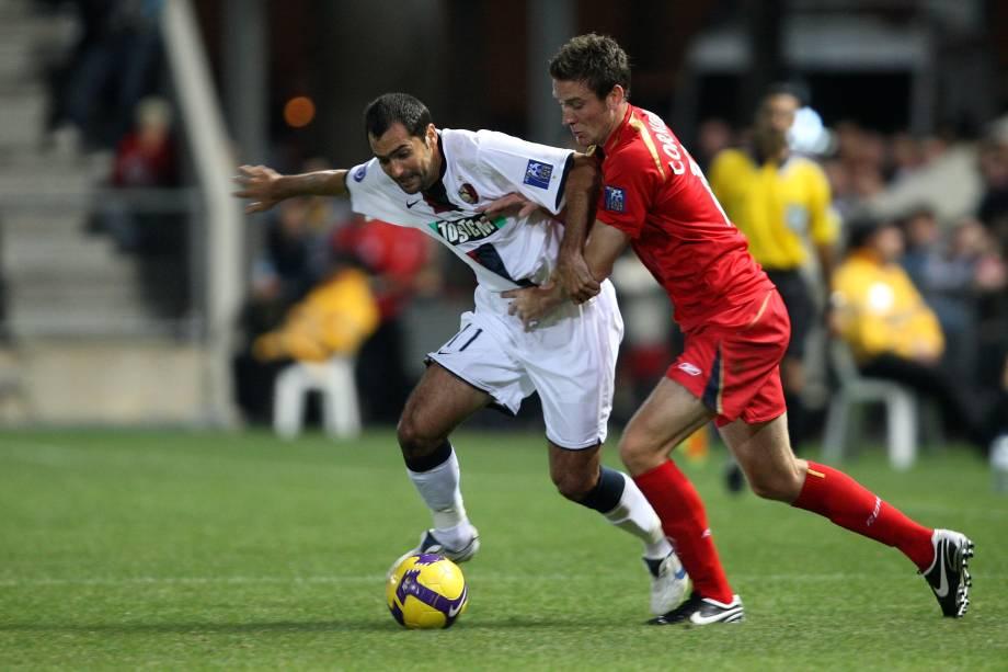 Danilo jogado pelo Kashima Antlers em 2008