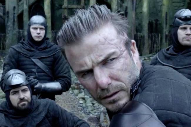 David Beckham em Rei Arthur