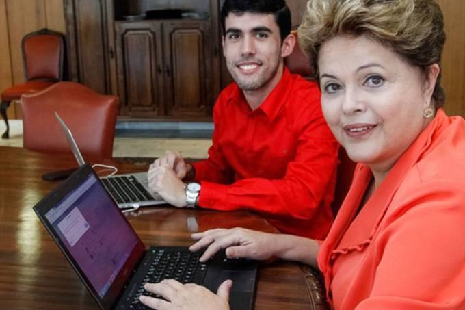 Dilma Rousseff e Jeferson Monteiro