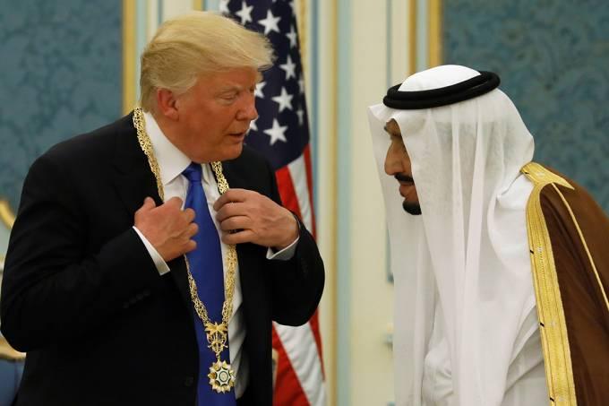 Donald Trump visita Arábia Saudita